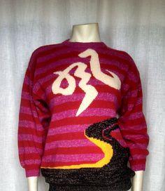 Vintage 80's Kansai Yamamoto Sweater