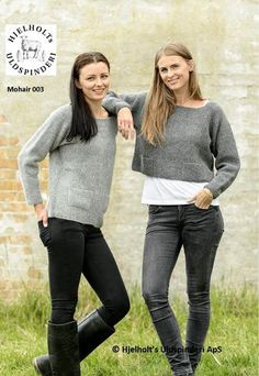 Mohairbluse i perlestrik- garn, Hjelholt - INGRIDMARIE Pullover, Sweatshirts, Model, Sweaters, Design, Fashion, Threading, Blouse, Moda
