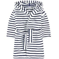 Petit Bateau Blue Terry cloth: Cotton Machine washable at Terry velvet bathrobe ✓ Shipping in 24 hours ✅ 28 days to return ✓ Free returns ! Peignoir, Kids Sleep, Stripe Print, My Boys, Velvet, Long Sleeve, Sleeves, Clothes, Tops