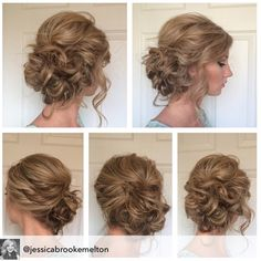 #hairstylist @jessicabrookemelton created this gorgeous side #updo that's perfect for a formal event. She created using #BigSexyHair #SprayandStay and #WhataTease. Tag & tell us what #SexyHair products you use to be featured.