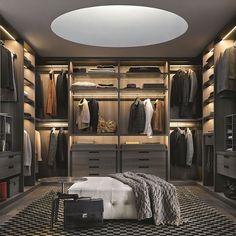 Top 100 best closet designs for men - walk-in closet ideas . - Top 100 best closet designs for men – walk-in closet ideas # walkable - Closet Walk-in, Men Closet, Closet Bedroom, Closet Ideas, Closet Small, Master Closet, Closet Clothing, Diy Bedroom, Trendy Bedroom