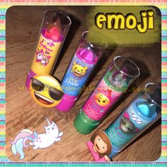 Emojis, lip jelly, lip jellies, fun gifts for girls, girl play makeup, townleygirl review