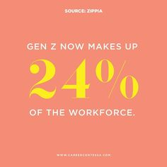 In 2020, Generation Z outnumber millennials and make up 24% of the workforce. However, just like millennials before them they bring different needs and desires to the workplace. Generation Z, Career Advice, Business Travel, College Students, Adulting, Workplace, Growing Up, Behavior, Investing