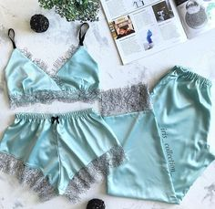 Pretty Lingerie, Beautiful Lingerie, Lingerie Set, Women Lingerie, Cute Lazy Outfits, Casual Outfits, Fashion Outfits, Cute Pajamas, Pajamas Women