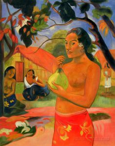 Where Are You Going -  Paul Gauguin  (1893)