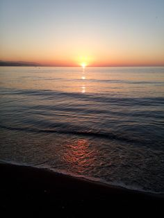 Amanece un nuevo día en Málaga