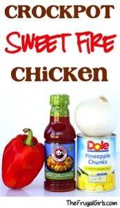 Crockpot Sweet Fire Chicken Recipe