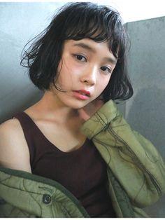 ナヌーク シブヤ(nanuk shibuya) 【nanuk】『こなれ感』が大切◇クシャッとした質感のクセ感ボブ