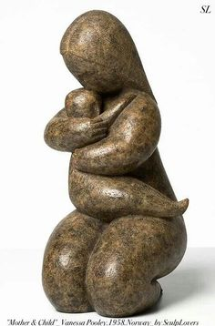 'Touch Has Memory', limited edition bronze, new contemporary sculptures by Vanessa Pooley Sculpture Clay, Bronze Sculpture, Mother And Child Reunion, Contemporary Sculpture, Small Art, Ancient Civilizations, Pebble Art, Sculpting, Children