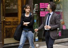 (L-R) KEIRA KNIGHTLEY and MARK RUFFALO star in BEGIN AGAIN. Loved her Boho chic in the movie.