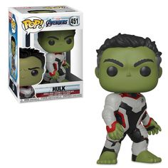 Your collector's shelf is sure to be a smash with this fully sculpted Hulk Pop! Vinyl Bobble-Head Figure as seen in the epic film Marvel's Avengers: Endgame. Funko Pop Marvel, Marvel Avengers, Avengers Fan Art, Avengers Quotes, Avengers Imagines, Avengers Cast, Avengers Team, Hulk Action Figure, Action Figures
