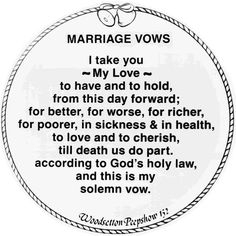 126 best Wedding Vows images on Pinterest in 2018