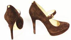 Michael Kors at Bloomingdales heels Katie wore, a great winter trend!
