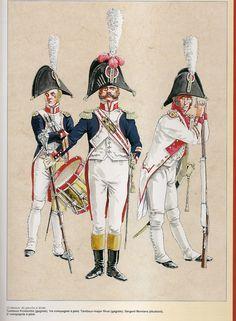 Guardia d'onore di Nantes nel 1812