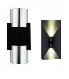 lowest price Modern LED wall lamp 2W sconce luminaria bathroom porch light outdoor indoor TV backgro-  Item Type: Wall Lamps  Diffuser: Tempered Glass  Features: modern, brief, intelligent  Body Material: Aluminum  Usage: Emergency  Light Source: LED Bulbs  Warranty: 2 years  Finish: Polished Steel  Certification: CCC,CE,FCC,GS,PSE,RoHS  Is Dimmable: No  Style: Modern  Base Type: Wedge  Voltage: 85-265V  Is Bulbs Included: Yes  Power Source: AC  Protection Level: IP54  Model Number: 1761…