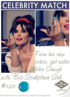From her new video, get nails like Cheryl with Bio Sculpture Gel! Bio Sculpture Nails, Celebrity Nails, Get Nails, Celebs, Celebrities, Cheryl, Beauty, Beautiful, Projects