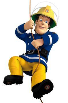 ausmalbild Sam der Feuerwehrmann