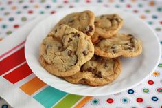 NY times best rated chocolate chip cookie - these really are pretty amazing