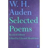 Livros Selected Poems - W. H. Auden (0571241530)