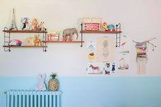 """Decorating tips from the book """"Vintage for Kids"""""""