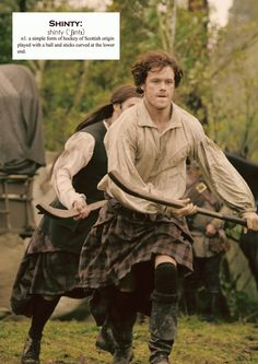 Outlander definitions.- Shinty. (x)