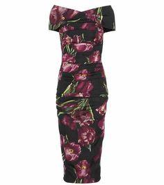 Bedrucktes Kleid aus Seide | Dolce & Gabbana