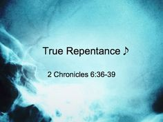 God's judgment is a plea to repentance
