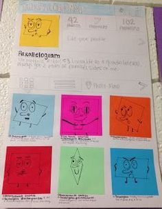 Instagram for Quadrilaterals: Students would love this!