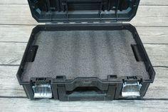 Dewalt Tstak II Flat Top Tool Case Tool Box - Kaizen foam insert