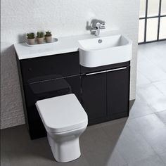 Buy Tavistock Match Right Handed Combination Unit With Basin Wide - Gloss Clay today. Tavistock Part No: Free UK delivery in approx 4 working days. Bathroom Furniture, Bathroom Redesign, Monochrome Bathroom, Shower Room, Heating And Plumbing, Tavistock, Small Bathroom, Chrome Door Handles, Wall Unit