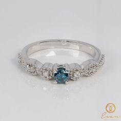 Sapphire, Teal, Rings, Jewelry, Fashion, Moda, Jewlery, Bijoux, Fashion Styles