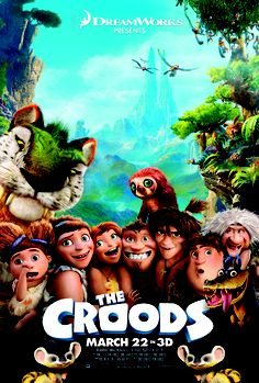 The Croods Movie DreamWorks 2013 Cartoon Film Poster Card & A Sheet Stickers Childhood Movies, Kid Movies, Family Movies, Movies To Watch, Movie Tv, Comedy Movies, Best Cartoon Movies, Dreamworks Movies, Fantasy Movies