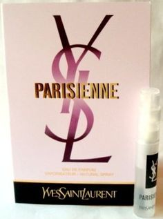 Yves Saint Laurent Parisienne .04 oz / 1.2 ml Mini Vial edp Spray by Yves Saint Laurent. $2.46. Yves Saint Laurent Parisienne .04 oz / 1.2 ml Mini Vial edp Spray. Parisienne Yves Saint Laurent Yves Saint Laurent Parisienne edp Spray  Yves Saint Laurent Parisienne .04 oz / 1.2 ml Mini Vial edp Spray The essence of a woman who is incredibly free-she is not from Paris, but Paris adopts her. She knows how to love, how to live. Parisienne is the fragrance of ultra-femi...