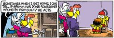 Mother Goose and Grimm By Mike Peters. Newspaper Cartoons, Mother Goose And Grimm, Humor, Comic Books, Friday, Comics, Funny, Drawing Cartoons, Humour