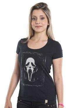 Camiseta feminina Don't Panic - 3desejos®