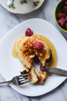 Buttermilk Pancakes - Warm Vanilla Sugar