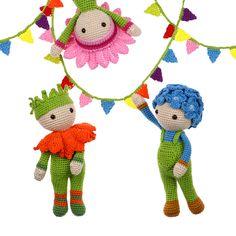 Bloemenpoppen Haken Bas Den Braver Handmade For Bog Crochet