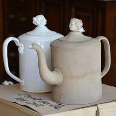 Design Guy: Day Part 1 of Maison & Ob'jet, Paris Ceramic Teapots, Ceramic Pottery, Pumpkin People, White Pumpkins, China Dinnerware, China Porcelain, Tea Time, Tea Pots, Tableware