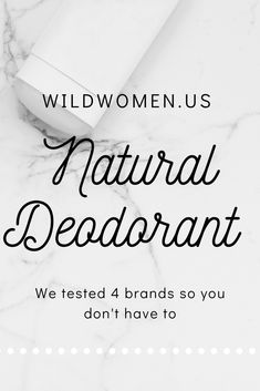 Here are 4 brands of natural deodorants we tested out for you. Find out which one will be your new favorite! Health Goals, Health Advice, Health Motivation, Natural Deodorant That Works, Charcoal Deodorant, Female Hormones, Wild Women, Natural Lifestyle