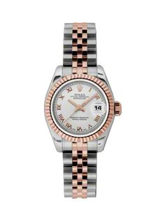 Rolex Women's Watch: Rolex Lady New style Datejust Rose Gold and Steel