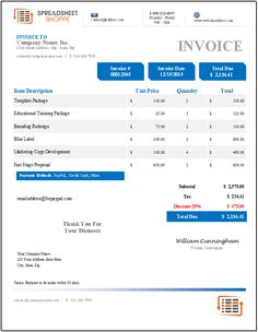 Job Invoice Template Construction Officework Stuff Pinterest - Job invoice template