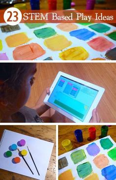23 STEM Based Play Ideas: Educational ideas for kids *Great resource for parents