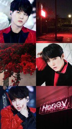 ideas jimin red aesthetic wallpaper for 2019 Suga Wallpaper, Red Wallpaper, Wallpaper Ideas, Min Yoongi Bts, Min Suga, Yoonmin, Bts Boys, Bts Bangtan Boy, Jimin Jungkook