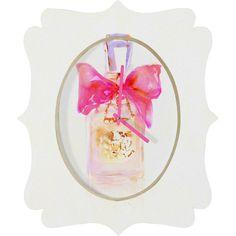 Marta Spendowska Perfume Series Couture Quatrefoil Clock #perfume #art