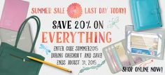 Last day to save 20% off everything in the store: Use the coupon code: SUMMER2015 when you check out.  At Ministry Ideaz, we provide publishers and pioneers with all sorts of practical supplies needed to be prepared and organized. Being equipped with the proper resources is the first step toward fulfilling your ministry and bringing the Truth to even more people. Ministry Ideaz is here to provide you with these resources. Use code SUMMER2015 to save 20% (Ends Aug 31, 2015).