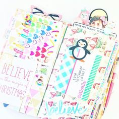 Art journaling: my new obsession! Working on some Christmas ideas a little in advance. Because it's my favorite time of year  by filoally