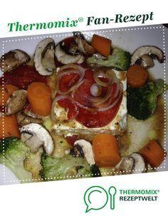 Schafskäse im Varoma mit Gemüse (besser als auf dem Grill) von SNO. Ein Thermomix ® Rezept aus der Kategorie Hauptgerichte mit Gemüse auf www.rezeptwelt.de, der Thermomix ® Community.