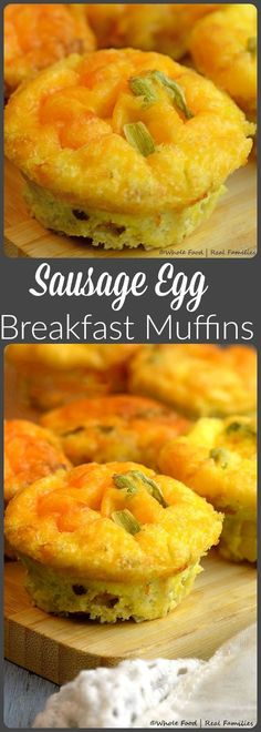 Count on Sausage Egg Breakfast Muffins for a hearty, hot breakfast any day of the week. They are delicious fresh – but freeze and reheat perfectly so breakfast is always at your fingertips.