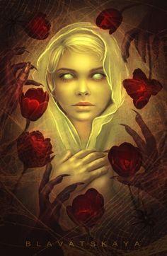Hot Digital Art by Blavatskaya