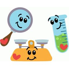 I think I'm in love with this shape from the Silhouette Design Store! Science Tools, Science Fair Projects, Preschool Learning Activities, Preschool Science, Science Lab Decorations, Chemistry Art, Graduation Crafts, Science Clipart, School Stationery
